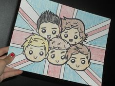 omg that is sooo cute!!!! I've gotta draw this. but what about the irish flag?!