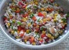 Sałatka z tuńczykiem na szybko