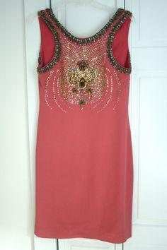 Miu Miu F/W  2004 embellished dress, back view (eBay)