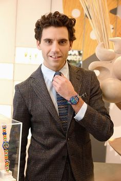 Mika signing event @ the Swatch store Paris Nov 19 2013