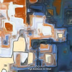 Christian Art |  Psalm 121:7. My Protector | Modern Abstract Painting
