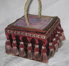 "Gorgeous Cigar Box Purse ""Gloria Mundi"" Functional Work of Art One of A Kind | eBay"