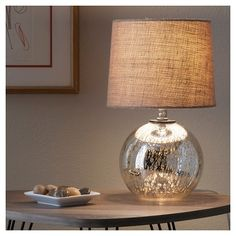 Mercury Glass Globe Accent Lamp - Threshold™ : Target