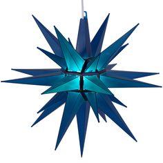 "14"""" Blue Moravian Star Light"