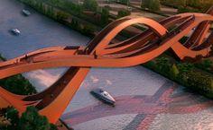 La cinta de Möebius y un puente en China. | Matemolivares