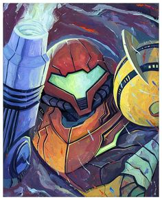 imthenic: Metroid Blast by Rich Pellegrino