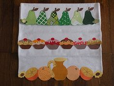 patchwork pano de prato laranja - Pesquisa Google