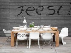 Future terrace / outdoor dining area
