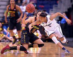 Moriah Jefferson steals the ball