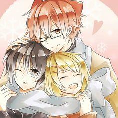 Hiroshi, Kei and Yuuta