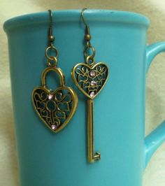 A Key To My Heart FREE SHIPPING by RandomDelights on Etsy, $12.00
