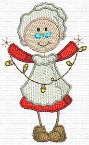 Amazing Embroidery Designs  Mrs. Santa