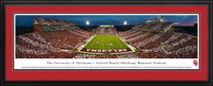This Oklahoma Sooners Panoramic Picture - Memorial Stadium was taken by Blakeway Worldwide Panoramas and is available in many different formats!