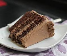 chocolate cake with salted caramel frosting