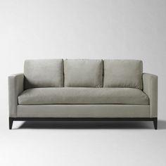 "Blake Down-Filled Sofa, 91"" West Elm, $1,100"