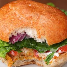 Sunflower Veggie Burgers Recipe by Tasty