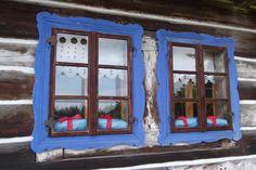 Niebieski okiennice Foto Robert Kmieć