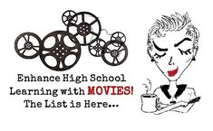 Enhance high school with this list of movies! When learning about a particular event, time period, or notable person, a great movie can really bring it all to life.