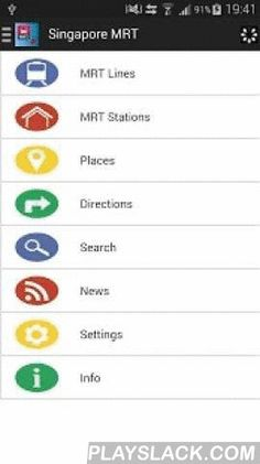 Singapore MRT  Android App - playslack.com ,  Singapore MRT is the best MRT guide for you to- Check MRT route- Show all stations in a list- Show MRT station position on map and nearby places- View list of places (Libraries, Swimming Complexes, Parks, Museums, Monuments, Market & Food Centers, Community Clubs, Shopping Malls & Mosques)- Get the direction on map- Check the estimated travel time & fare - Search MRT stations- Read the latest Singapore, Malaysia, Asia and world news…