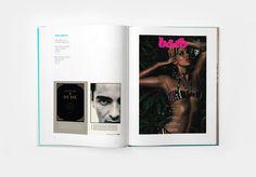 2009 Parsons Communication Design Book by Juan Carlos Pagan, via Behance