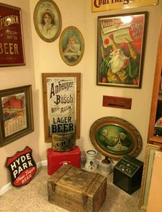 Early Brewery Antique Advertising Collection
