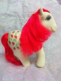 Vintage My Little Pony Twice As Fancy Sugarberry    $7