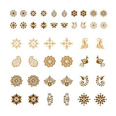 I love these for tiny tattoo ideas