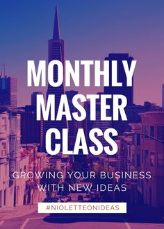 If you want to develop great out-of-the-box ideas that get more people paying attention to your business, I have a two hour masterclass for you. Stop trying to grow your business and just do it.    In the 1 hour masterclass includes      	3 live guided brainstorming sessions  	5 features that every customer is looking for in a product or service they buy  	10 Bad Habits that hold you back from brilliant business ideas  	7 ways to generate new ideas in 7 days  	1 simple way to find a solution…