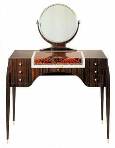 emile jacques ruhlmann | Emile-Jacques Ruhlmann: Dressing Tables Cool Furniture, Furniture Design, Bauhaus Art, Art Nouveau Furniture, Art Nouveau Design, Objet D'art, Fine Woodworking, Art Deco Fashion, Art Decor