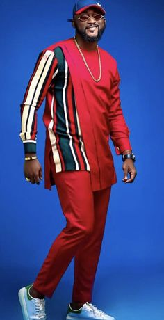 House of Kay African Wear Styles For Men, African Shirts For Men, African Dresses Men, African Attire For Men, African Clothing For Men, Latest African Fashion Dresses, African Suits, Nigerian Men Fashion, Indian Men Fashion