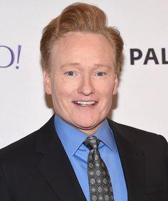 Conan O'Brien has a pretty intense beauty routine.
