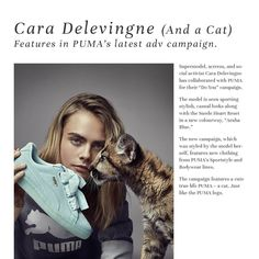 Cara got featured on sprint issue. And you? What are you waiting for? ;p