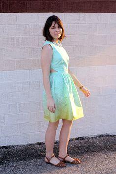 Bonnell Dress Pattern  PDF Download