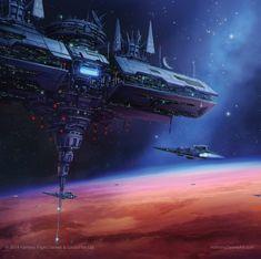 Star Wars Stellar Fortress, Anthony Devine on ArtStation at…