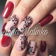 "129 Likes, 1 Comments - ANNA_MALINKO (@anna_malinko) on Instagram: ""#аннамалинко #nails #nailstagram #anna_malinko #ногтики #ногтидизайн #любимаяработа #гельлак #гель…"""