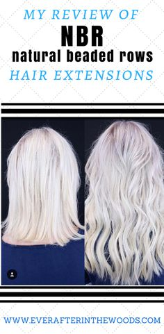 I love my hair stylist and her ability to install Natural Beaded Rows hair extensions. She has taken my fine hair and added depth and dimension with NBR. Real Hair Extensions, Volume Eyelash Extensions, Hair Extensions Before And After, Hair Loss Cure, Hair Beads, Up Hairstyles, Layered Hairstyles, Hair Dos