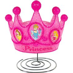 Royalty Crown Lamp by Disney on today! Disney Princess Room, Princess Theme, Little Princess, Princess Bedrooms, Princess Fairytale, New Disney Princesses, Disney Characters, Pink Crown, Disney Toys