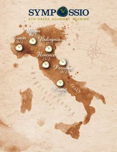 #Sympossio 2015 starts on Monday the 16th in Bella Italia, Milan.  Follow the culinary route and stay tuned!