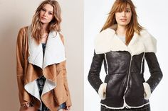 "Shearling was all over the fall 2015 runways, and there are tons of great-looking ""faux"" options, like this Hail Sunrise Sherpa Jacket By Somedays Lovin or this sleek RACHEL Rachel Roy Seamed Faux-Shearling Jacket. http://thestir.cafemom.com/beauty_style/189206/25_musthave_pieces_for_your"