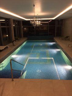 Luxury pool in Chateau Oponice, Slovakia 🔮🍃
