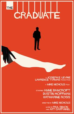 Saul Bass Movie Posters | Saul Bass and The Graduate fans out there, I made this movie poster ...
