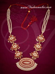Dependable Performance Pearl Necklace Set white