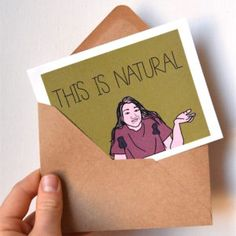Funny Body Positive Greeting Card | www.sweatstainsco.com/shop Sweat Stains, Body Positive, Greeting Cards, Positivity, Humor, Funny, Shop, Pit Stains, Humour