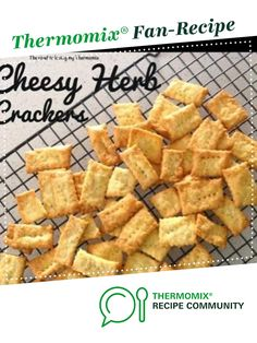 Cheesy Herb Crackers by theroadtolovingmythermomix. A Thermomix <sup>®</sup> recipe in the category Baking - savoury on www.recipecommunity.com.au, the Thermomix <sup>®</sup> Community.