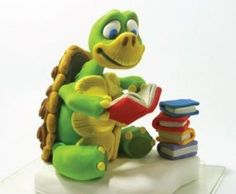 this is me....... a cool turttle with her nose in a book