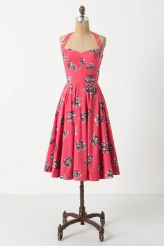 Akebono Halter Dress - Anthropologie.com