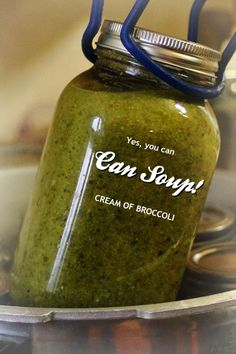 Yes, you can can soup...