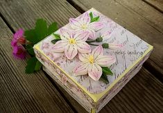 #quillingcreations #quillingflowers #handmadeflowers #handmadebox#paperflowers #квиллингцветы