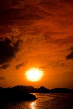 Antigua St. Martin St. Lucia Sunrise Sunset View