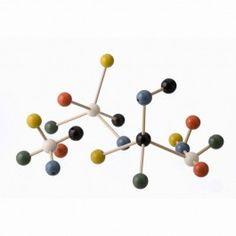 Decorazione con molecole per bambini e ragazzi, multicolore, chimica ...